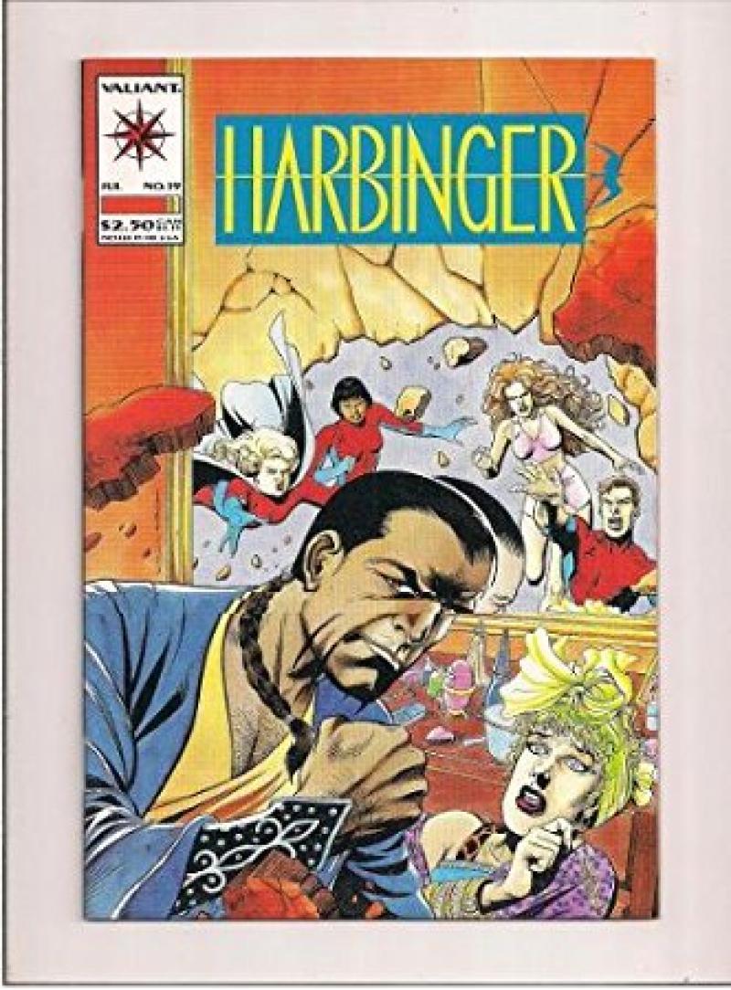 Harbinger #19 (Jul 1993, Acclaim / Valiant)