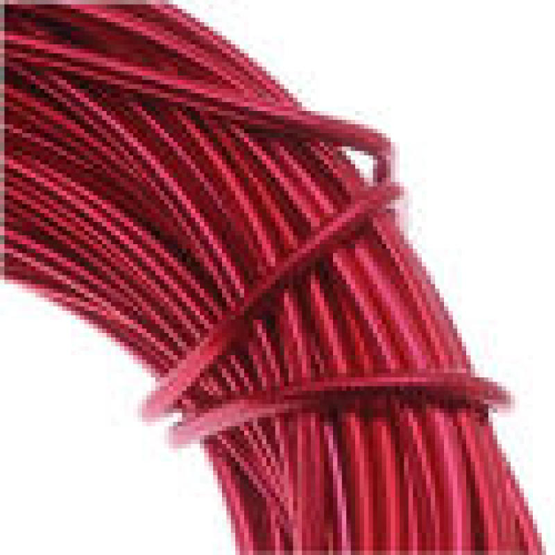 Red Craft wire (painted) 24 gauge 39 ft