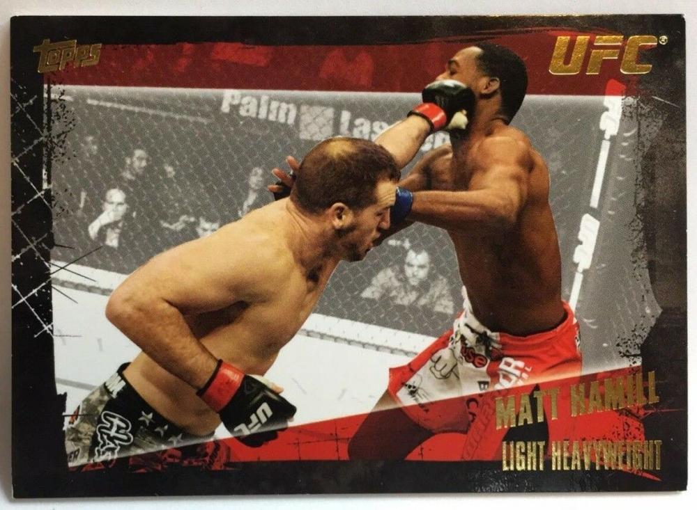 2010 Topps UFC Gold #104 Mark Hamill NrMt-Mt