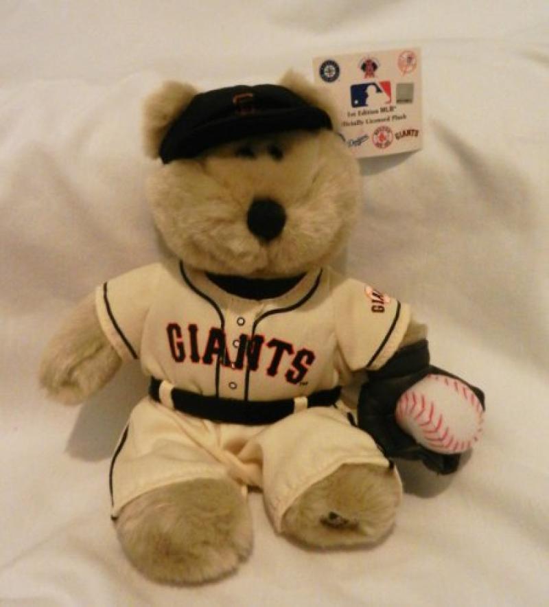 2003 Starbucks San Francisco Giants MLB Bear - 1st Edition With Tag
