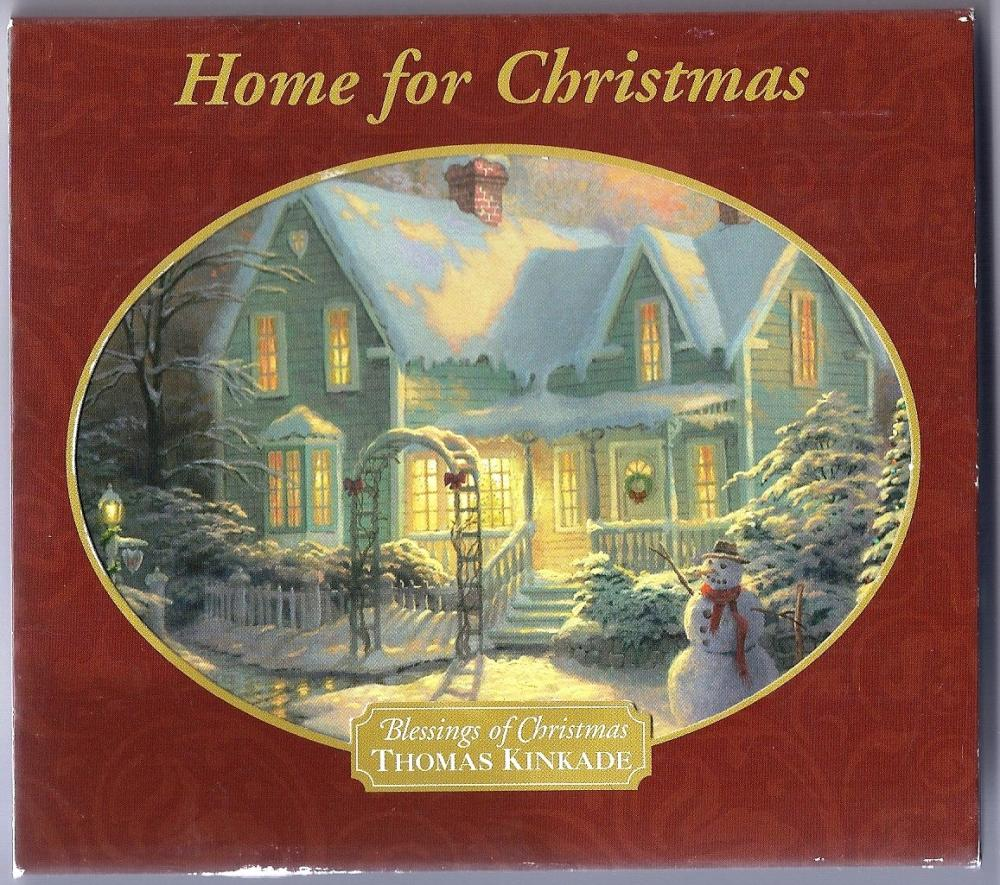 Home for Christmas THOMAS KINKADE --Blessings on Christmas--CD
