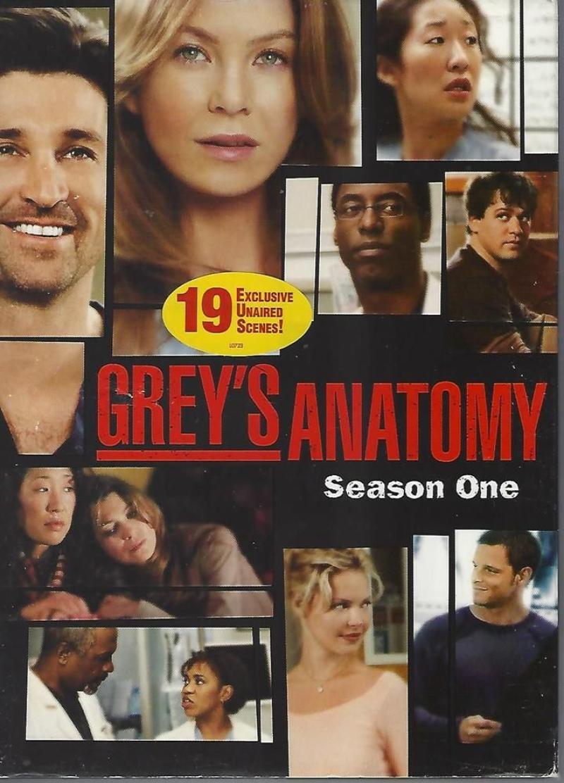 Grey's Anatomy Season One 1 2-Disc Set Factory Sealed New