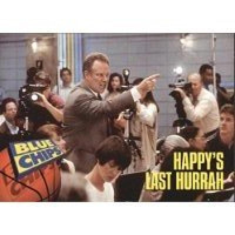 1994 Skybox Premium Blue Chips #47 Happy's Last Hurrah
