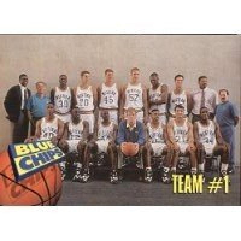 1994 Skybox Premium Blue Chips #61 Team #1