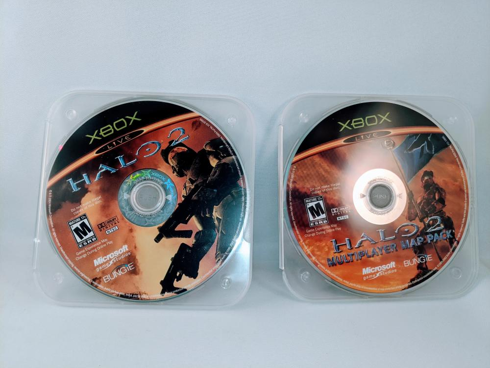 XBox Halo 2 Discs Only *Tested*