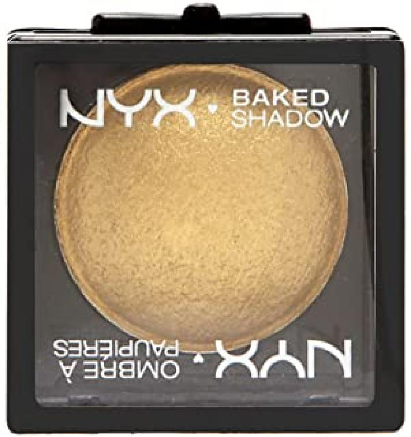 NYX Professional Makeup Baked Eyeshadow, Ghetto Gold 0.1 Ounce