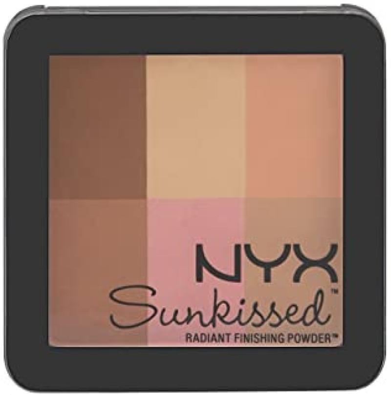 NYX Professional Makeup Radiant Finishing Powder, Sun Kissed, 0.43 Ounce