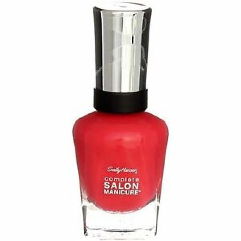 Sally Hansen Salon Manicure Scarlet Lacquer  0.5 Ounce 465