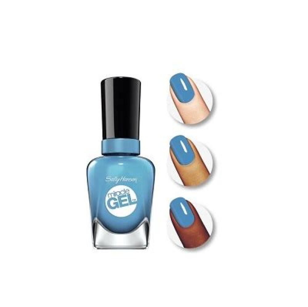 Sally Hansen Miracle Gel, Rhythm & Blue 0.5 Ounce
