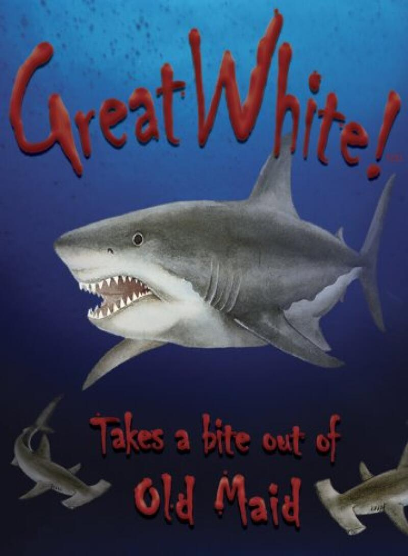 Great White! (Card Game) NIP  Card Shark