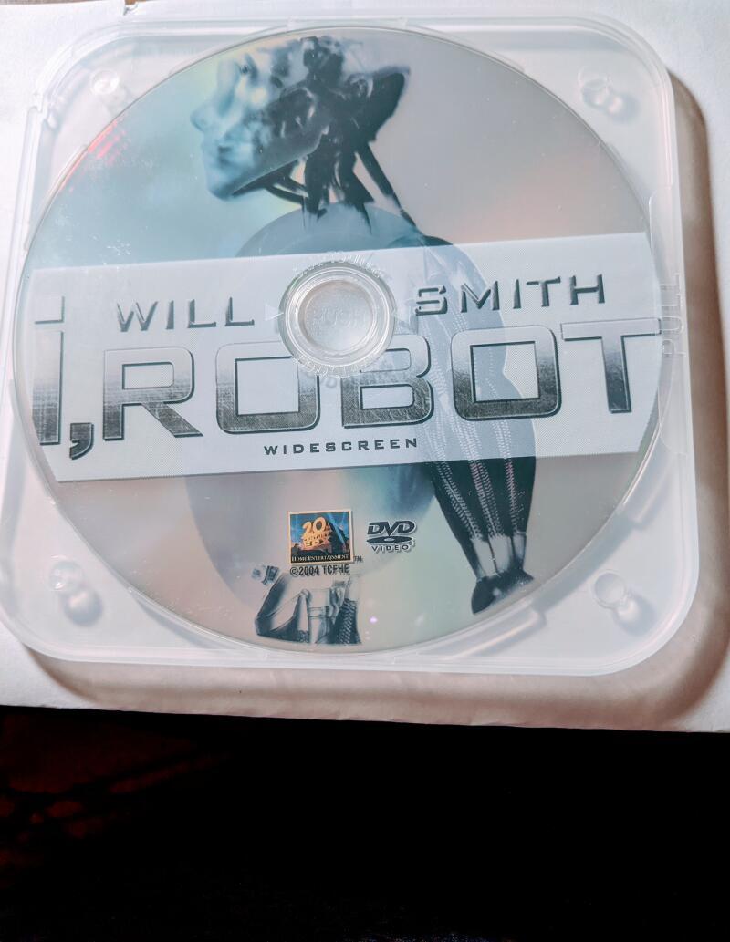 I, Robot  Will Smith Widescreen DVD *Disc Only*  Bridget Moynahan, Bruce Greenwood