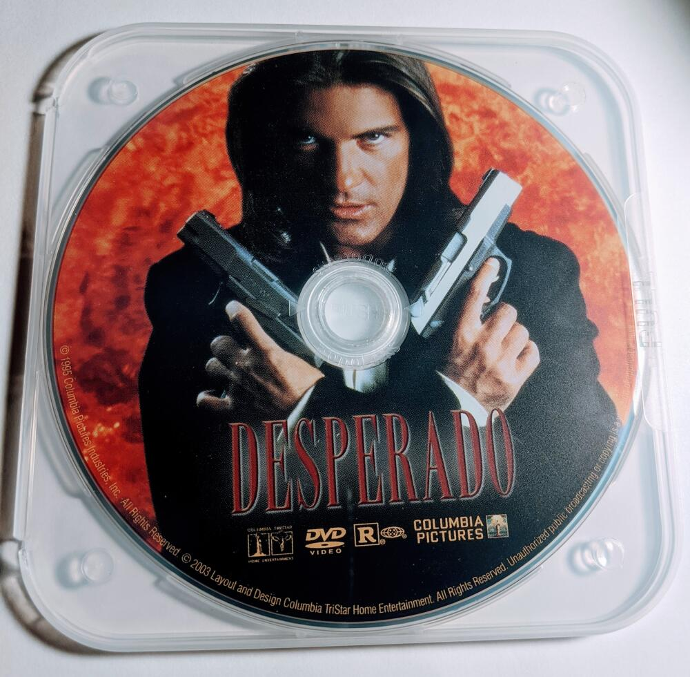 Desperado Antonio Banderas Salma Hayek Special Edition DVD *Disc Only*