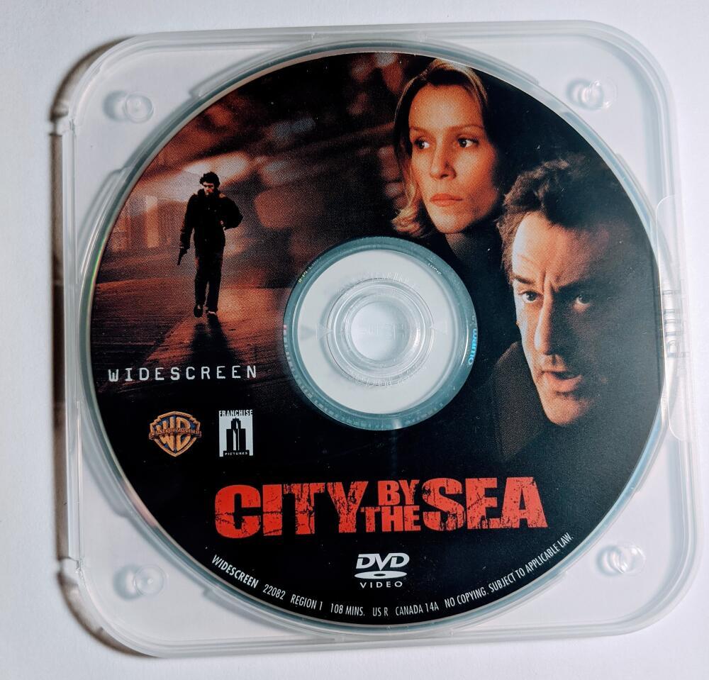 City By The Sea Robert De Niro Frances McDormand James Franco Widescreen DVD *Disc Only*