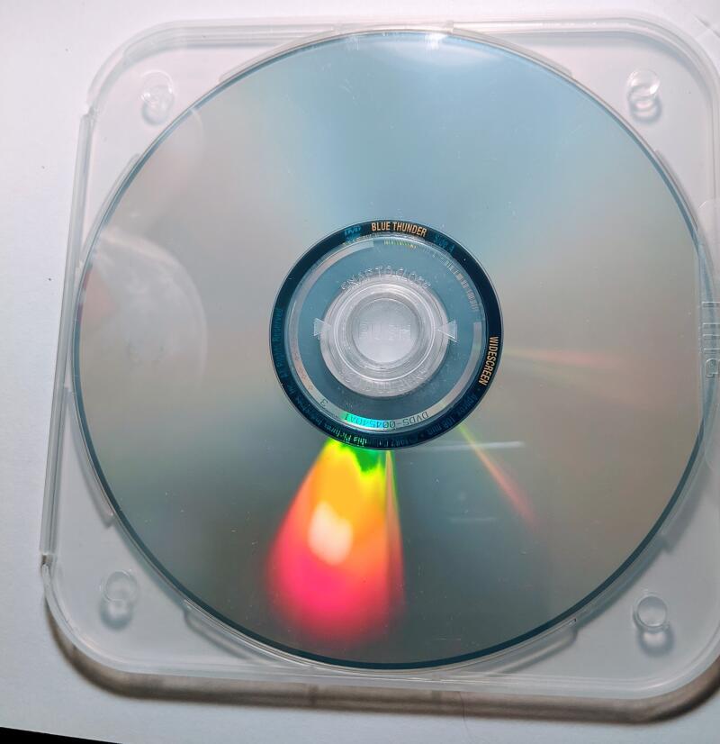 Blue Thunder Roy Scheider Warren Oates Candy Clark  Widescreen/Full Screen DVD *Disc Only*
