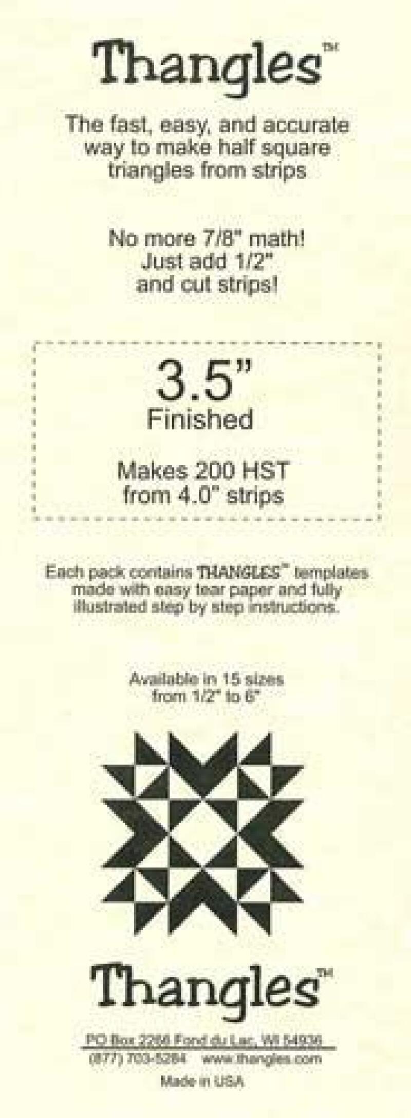 Thangles 3.5