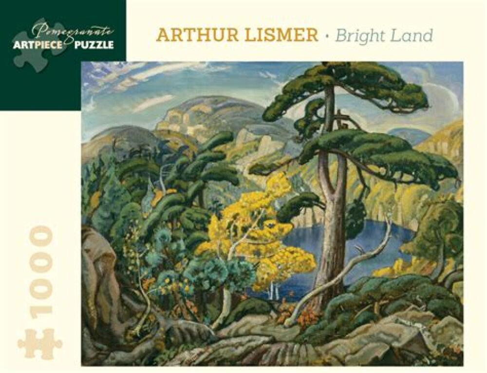 Arthur Lismer Bright Land 1000 pieces jigsaw puzzle Pomegranate Artpiece Puzzle