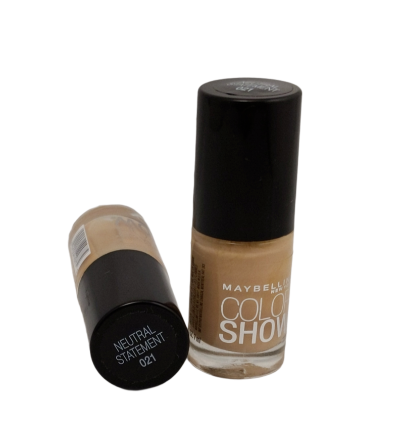 Maybelline Color Show - NEUTRAL STATEMENT #021- nail lacquer polish