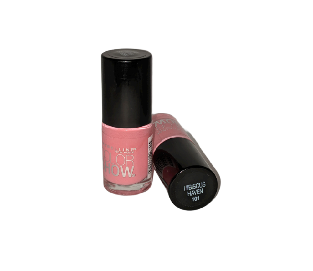 Maybelline Color Show -Hibiscus Haven #101- Gloss nail polish