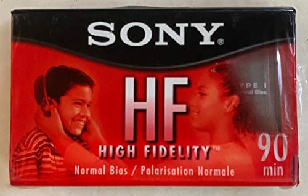 Sony C90HFR 90 Minute HF Audio Tape Music Voice Cassette