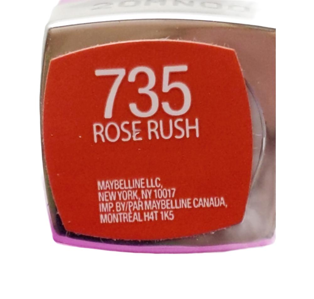 Color Sensational Maybelline -Rose Rush #735 Lipstick