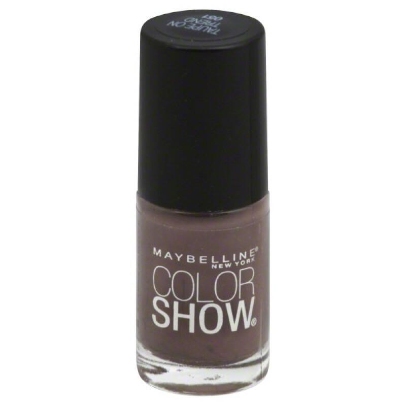 Maybelline Color Show - Taupe on Trend #051- nail lacquer polish