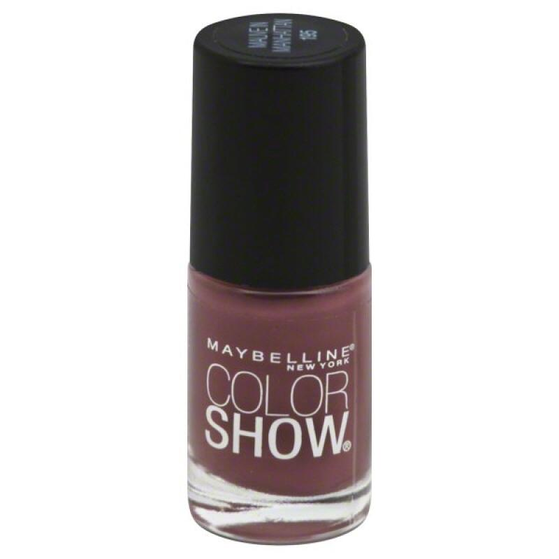 Maybelline Color Show - Mauve in Manhattan #195-  Gloss nail lacquer polish