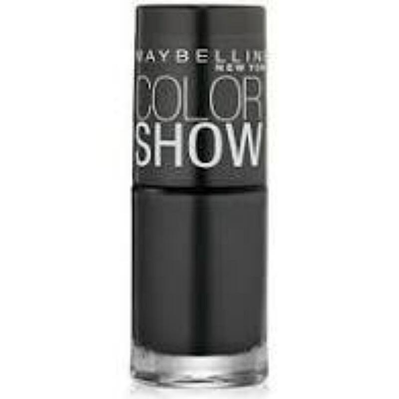 Maybelline Color Show - Onyx Rush #430- nail lacquer polish