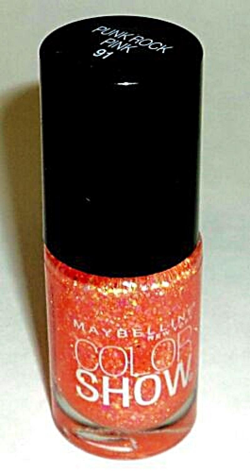 Maybelline Color Show - Punk Rock Pink #91- nail lacquer polish