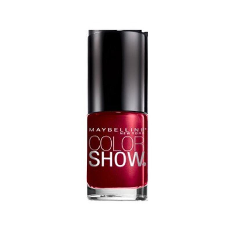 Maybelline Color Show - Rich In Ruby #155-Shimmer nail lacquer polish
