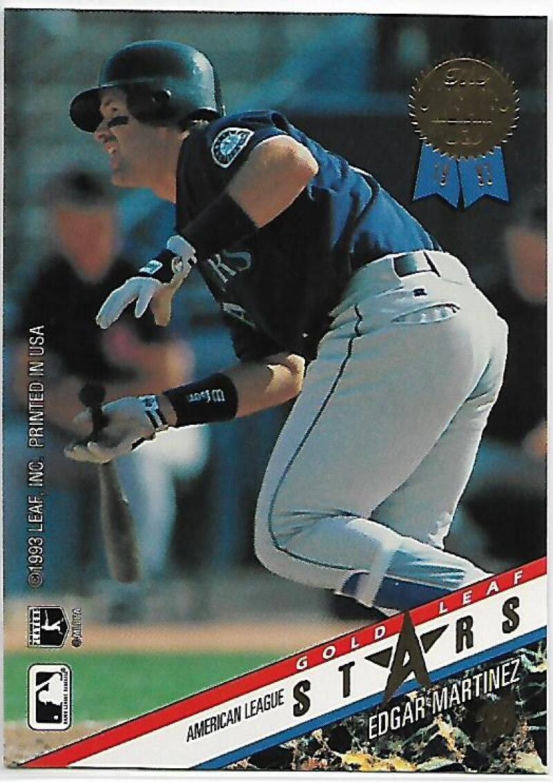 1993 Leaf Gold All Star #R15 Edgar Martinez/Gary Sheffield NM-MT