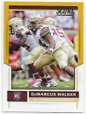 2017 Score Rookies Gold #402 DeMarcus Walker NM-MT