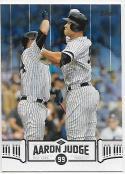 2018 Topps Aaron Judge Highlights Blue #AJ-20 Aaron Judge NM-MT