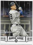 2018 Topps Aaron Judge Highlights Black #AJ-10 Aaron Judge NM-MT