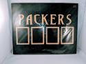 Green Bay Packers 4 Trading Card Holder Wall Plaque 14