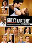 Grey's Anatomy Complete Fifth Season More Moments Factory Sealed New