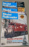 1991 Vintage Model Railroader Magazine Good Condition Jan-Dec Lot of 12