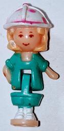 1994 Vintage Polly Pocket Doghouse Animal Wonderland Collection Replacement Figure VTG