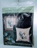 1984 VTG Counted Bead Embroidery Cross Stitch Hummingbird MPR-104 NIP
